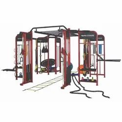 8 Stations Energie Fitness Cross Fit 360 Degree Commercial Multi-Station Gym