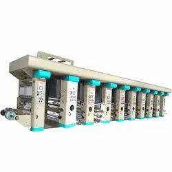 Rotogravure Prining 4 Color Printing Machine
