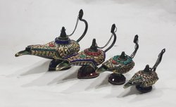 Black Aladdin Chirag, For Decoration