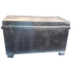 Open Top Container Steel Trunk, For Home