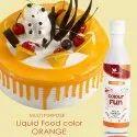 Orange Multi Purpose Liquid Food Colours