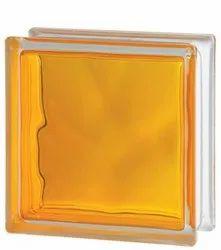 Brilly Yellow Glass Bricks