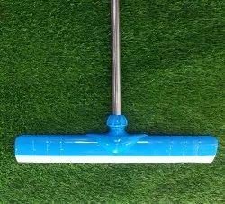 Telescopic Handle Blue Floor Cleaning Wiper Squeezer 42 Inch (3.5 Feet)