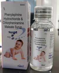 Phenylephrine 5mg Chlorpheniramine 2mg Suspension With Mono Carton