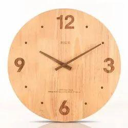 Round Wooden Wall Clocks