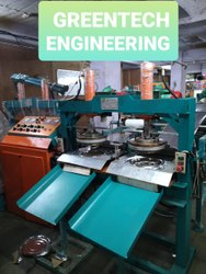 Fully Automatic Hydraulic Double Die Thali Making Machine