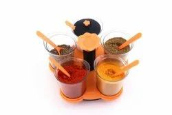 Multi Purpose Dining Set Of 5 Spice Rack