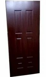Laminated Brown Wake Field Wooden Flush Door, Thickness: 25 Mm