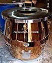 S Steel Top Brass Tandoor