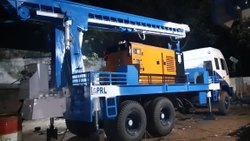 Man Truck Mounted DTH Cum Rotary Drilling Rig