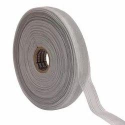 Lurex - Silver Stripe Triple Line Ribbons 25mm/1'' Inch 20mtr Length