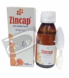 ZINCAP (Zinc Acetate Syrup 50 mg/5 mL)