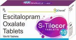 Escitalopram 10 Mg Tablets (S-Tilocor 10)
