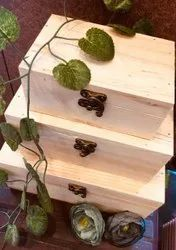 Wooden Pine Box Set, Weight Holding Capacity(Kg): <70 Kg