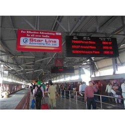 Offline Acrylic Railway Station Advertising Service, in Local Area
