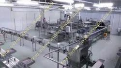 Automatic SS & MS Vegetable Processing Plant, 500 Kgph