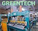 Hydraulic Dona Thali Making Machine