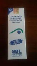Cineraria Maritima Euphorasia Eye Drops