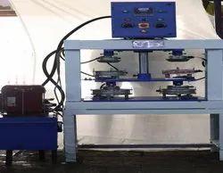 Zig Zag Plate Making Machine