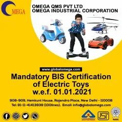 Bis Certification Consultancy for Electric Toy IS 15644