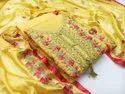 Chanderi Silk Dress Material