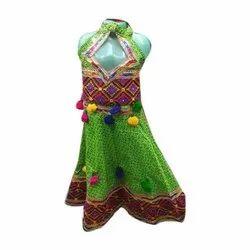 Lehenga Choli Embroidered Kids Indian Traditional Dress