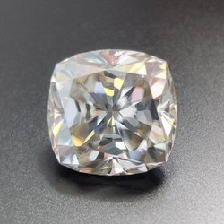 Colorless Cushion Cut Loose Moissanite For Jewelry