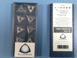 TNMG 160404 ALK10 Alumina Carbide Insert