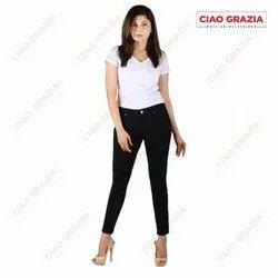 Women Black Denim Jeans, 26 - 34