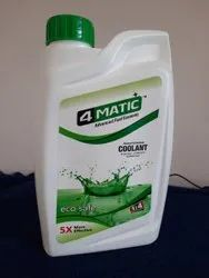 4Matic Green Liquid Engine Coolant, Packaging Type: Bottle