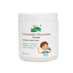 Dr. Patkar's Bovine Chocolate Colostrum Powder 60 GMS
