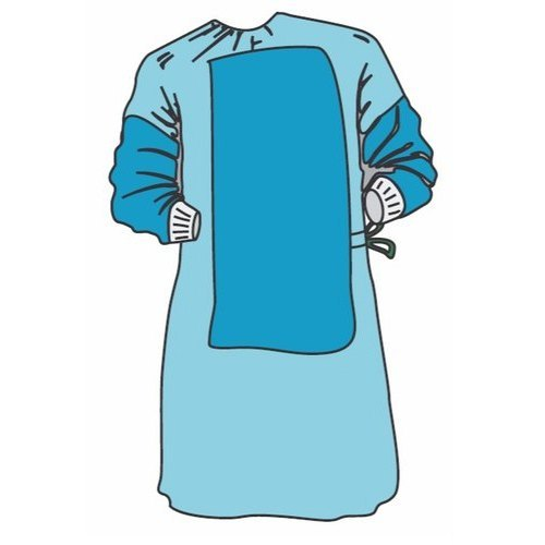 Disposable Reinforced Surgical Gown