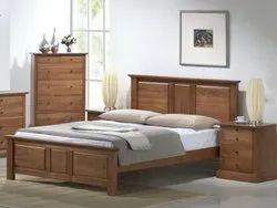 Bhawani Furniture Modern Wooden Single Bed, Size: 75 * 36 Inch