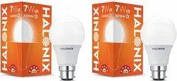 Polycarbonate Warm White Halonix 7w Led Bulb