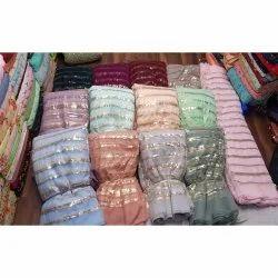 Designer Net Sequins Fabrics