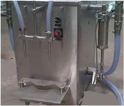 Twin Heads Bottle Volumetric Liquid Filling Machine