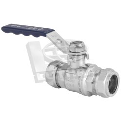 Chromium Plated Brass Full Bore Ball Valve