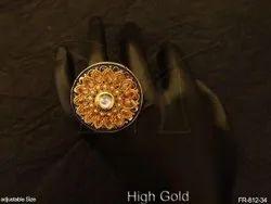 Round Finger Ring