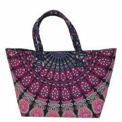 Multicolor Cotton Bag, Capacity: 2 Kg