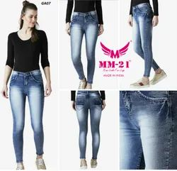 MM-21 Skinny Cotton Blend, Stretchable, Power Lycra Fabric, Size 28,30,32,34