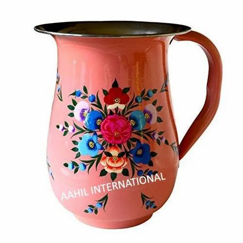 Hand Painted Designer Enamelware Pitcher Manufacturers In India