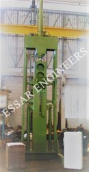 Coir Peat 25kg Bale Making Machine Vertical Arrangements.