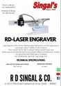 Tabletop Laser Engraving Machine