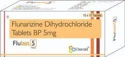 Flunarizine 5 mg Tablets (Flulast 5)