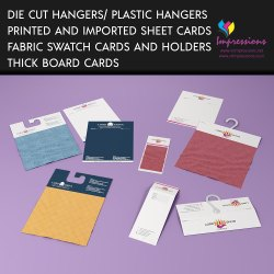 Fabric Swatch Card Folder