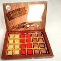 Square Dry Fruits Chocolate
