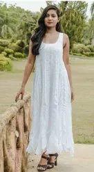 Cotton Plain Women Masakali Dress