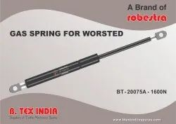 GAS SPRING FOR WORSTED PLANT