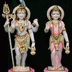 Lords Shiv Parvati Yugal Jodi Statue