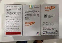 Sofosbuvir 400 mg And Velpatasvir 100 mg Tablet, 28 Tablets, Prescription